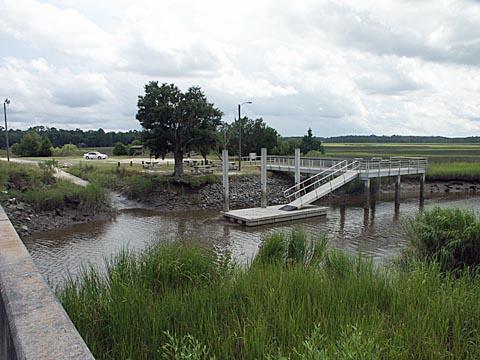Glynn county white chimney creek boat ramp department for Ga dnr fishing license