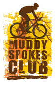 Muddy Spokes Club logo