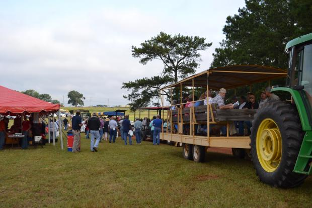 Agroforestry and Wildlife Field Day photograph