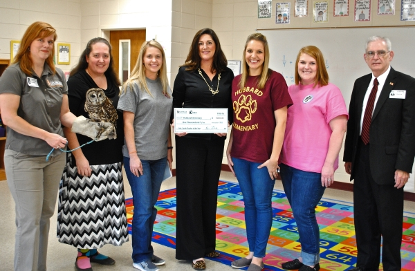 Hubbard Elementary Award Teachers